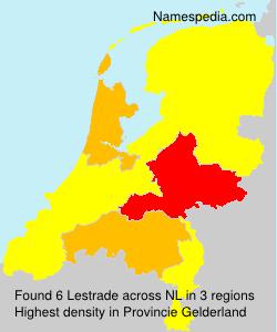 Surname Lestrade in Netherlands