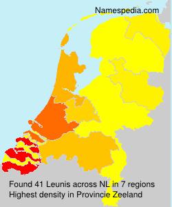 Surname Leunis in Netherlands