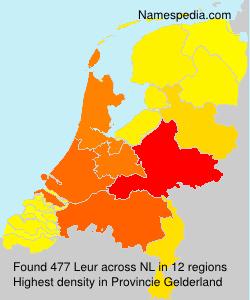 Surname Leur in Netherlands