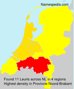 Surname Leuris in Netherlands