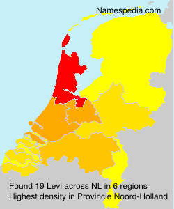 Surname Levi in Netherlands