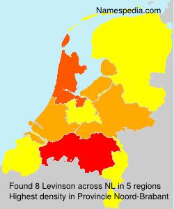 Familiennamen Levinson - Netherlands