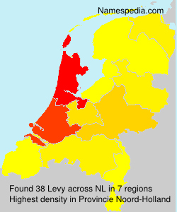 Surname Levy in Netherlands