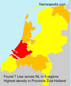 Surname Liao in Netherlands