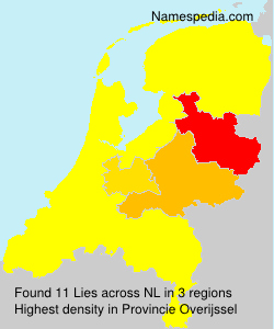 Surname Lies in Netherlands
