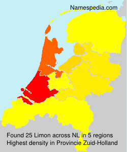 Surname Limon in Netherlands
