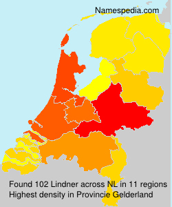 Surname Lindner in Netherlands