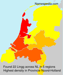 Surname Lingg in Netherlands