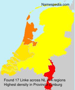 Surname Linke in Netherlands
