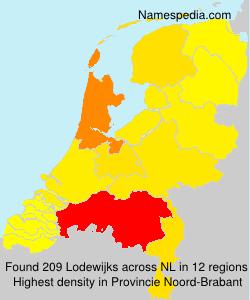 Familiennamen Lodewijks - Netherlands