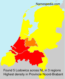 Surname Lodowica in Netherlands