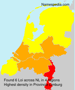 Surname Loi in Netherlands