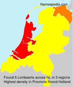 Surname Lombaerts in Netherlands