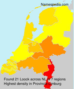 Surname Loock in Netherlands