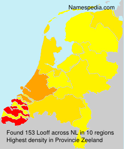 Surname Looff in Netherlands