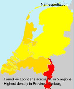 Surname Loontjens in Netherlands