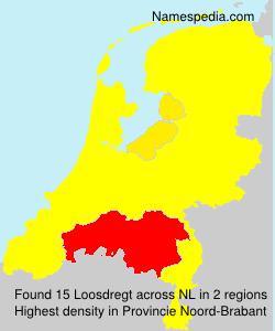 Surname Loosdregt in Netherlands