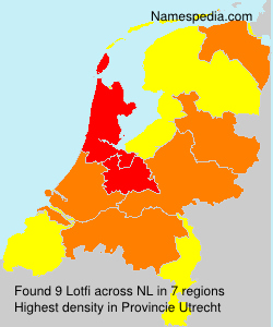 Surname Lotfi in Netherlands