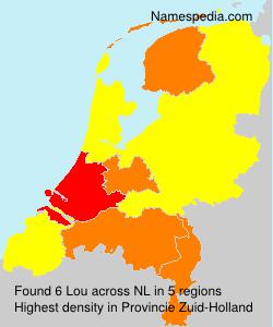 Familiennamen Lou - Netherlands