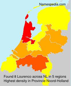 Familiennamen Lourenco - Netherlands