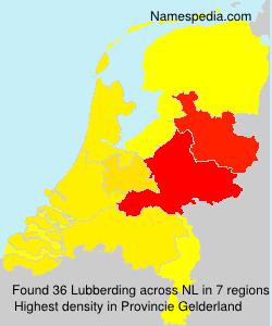 Surname Lubberding in Netherlands
