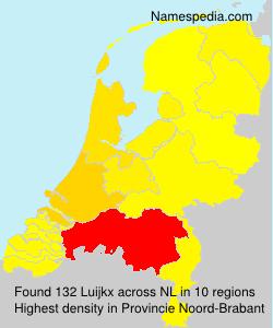 Familiennamen Luijkx - Netherlands