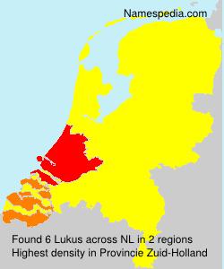 Surname Lukus in Netherlands