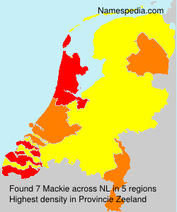 Surname Mackie in Netherlands