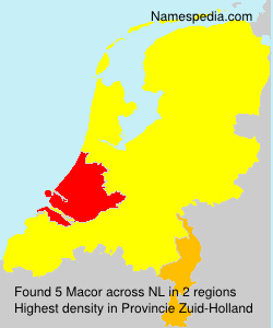 Surname Macor in Netherlands