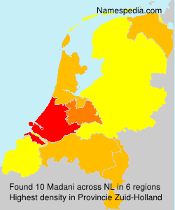 Surname Madani in Netherlands