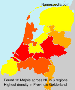 Surname Majoie in Netherlands