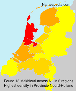 Surname Makhloufi in Netherlands