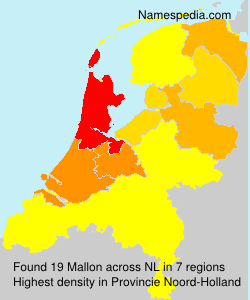 Surname Mallon in Netherlands