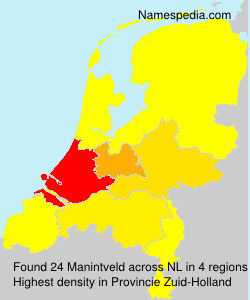 Surname Manintveld in Netherlands