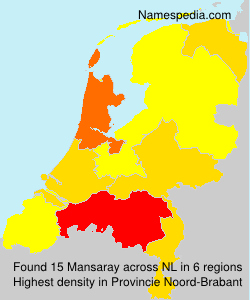 Surname Mansaray in Netherlands