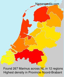 Surname Marinus in Netherlands