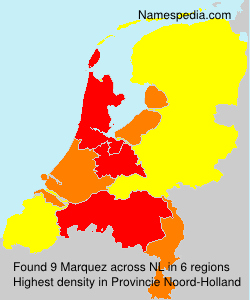 Surname Marquez in Netherlands