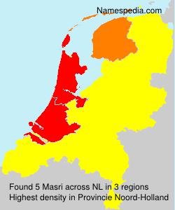 Surname Masri in Netherlands