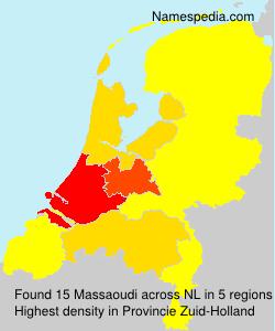 Familiennamen Massaoudi - Netherlands