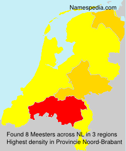 Surname Meesters in Netherlands