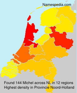 Surname Michel in Netherlands