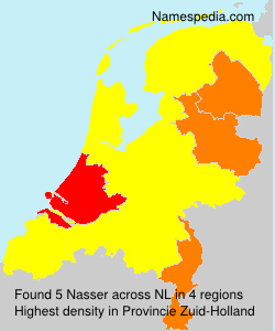 Familiennamen Nasser - Netherlands