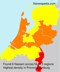 Surname Nasseri in Netherlands