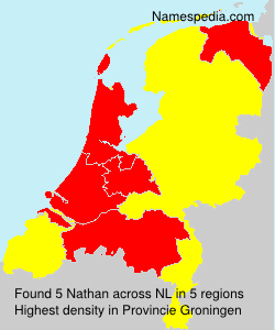 Surname Nathan in Netherlands