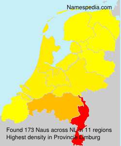 Surname Naus in Netherlands