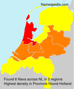Surname Nava in Netherlands