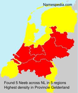 Familiennamen Neeb - Netherlands