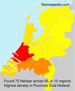 Surname Nelisse in Netherlands