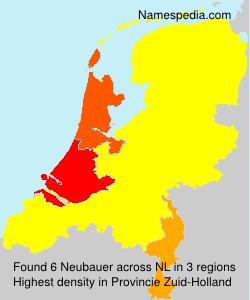 Surname Neubauer in Netherlands