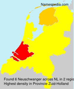 Surname Neuschwanger in Netherlands